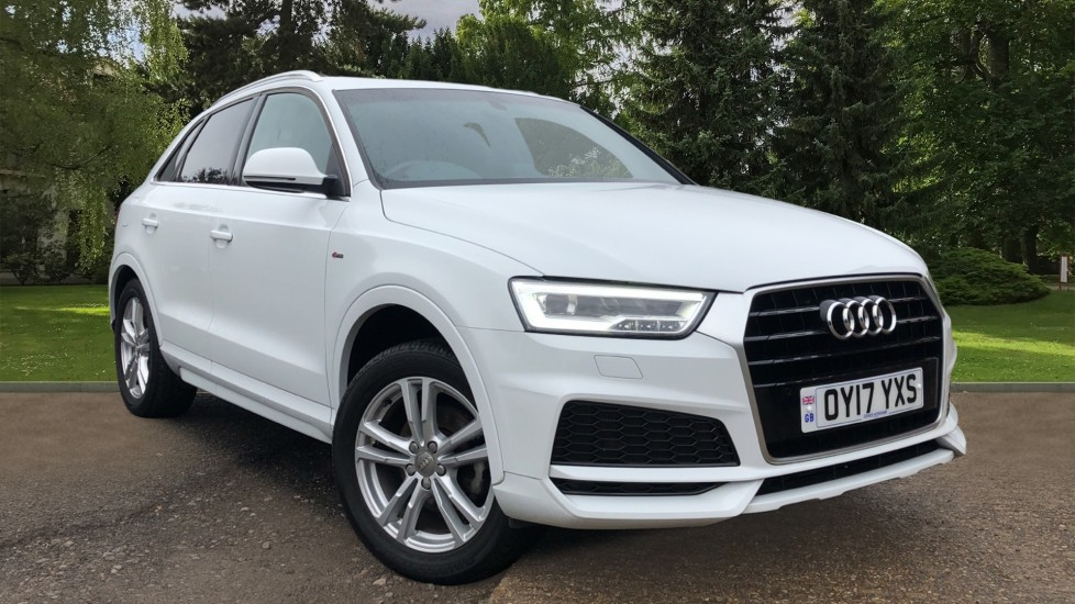 Audi Q3 1.4T FSI S Line Edition 5dr S Tronic - Privacy glass - Electric tailgate Automatic Estate (2017) image