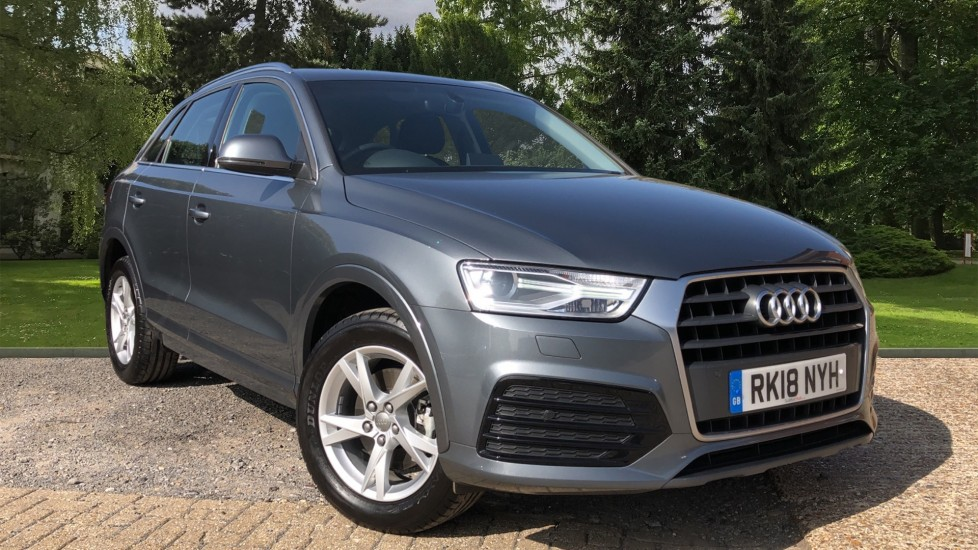 Audi Q3 1.4 TFSi  Sport Nav 5dr Auto with DAB, Advanced Park System, Rear Camera & Heated Seats,  Automatic 4x4 (2018)