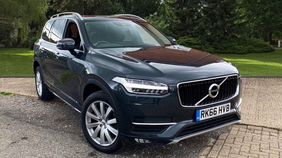 Volvo XC90 2.0 D5 AWD PowerPulse Momentum W. Dark Tinted Windows, Smartphone & Sunroof Diesel Automatic 5 door Estate (2016) image
