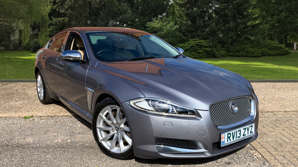 Jaguar XF 3.0d V6 Luxury With. Rear Parking Camera, Cruise Control & 18 Inch Spare Wheel Diesel Automatic 4 door Saloon (2013) image