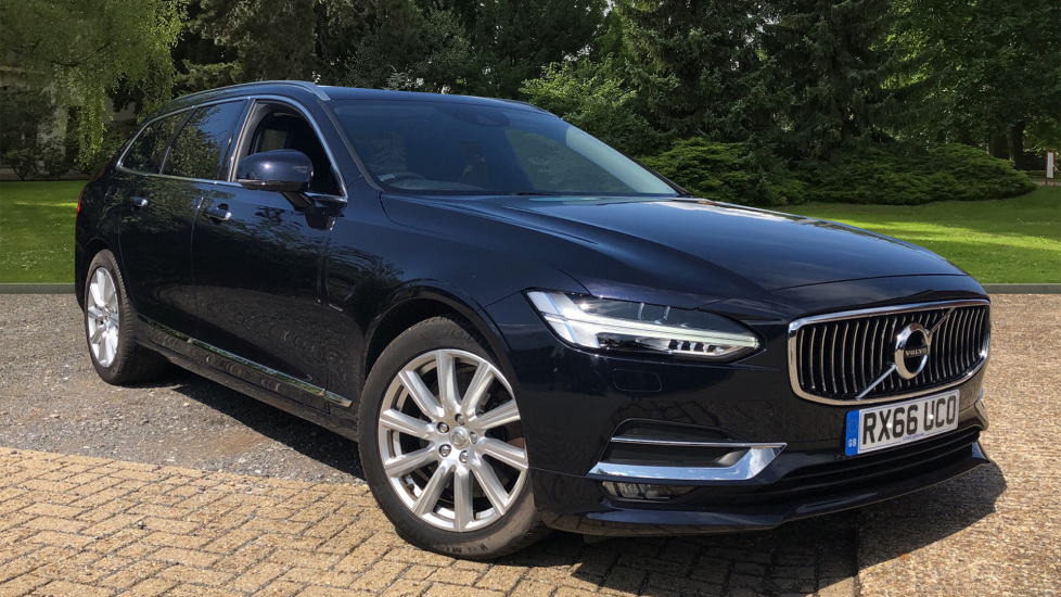 Volvo V90 D5 PwrPulse Inscription AWD AT, Winter Pk, HUD, RCam, 4Zone AC, SPhone Int, Active Lights, Tints. 2.0 Diesel Automatic 5 door Estate (2016) image