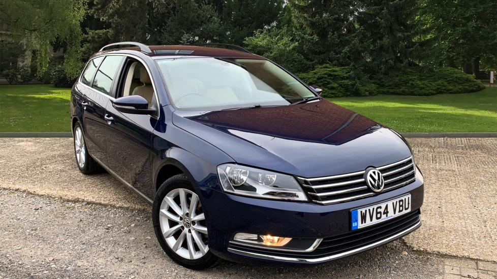 Volkswagen Passat 2.0 TDI 177 Bluemotion Tech Executive W. Park Assist, Semi Electric Driver Seat & Nav Diesel 5 door Estate (2014)
