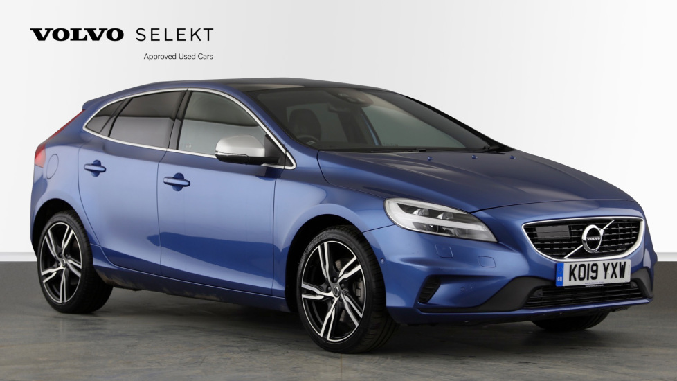 Volvo V40 T2 R Design Pro Edition AT, Nav, Winter & Xenium Pks, Intellisafe Pro, Active Bending Lights, DAB 1.5 Automatic 5 door Hatchback (2019)