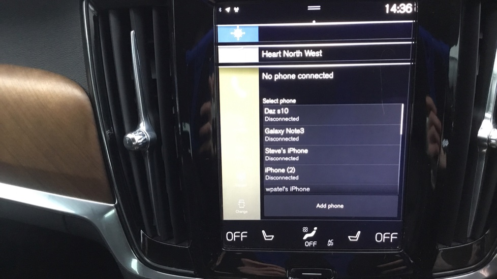 Volvo S90 2.0 D5 PowerPulse Inscription AWD Geartronic with Winter Pack image 19