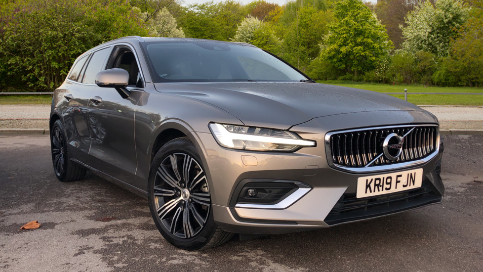 Volvo V60 2.0 D3 Inscription 5dr with Convenience and Winter Packs Diesel Automatic Estate (2019) image