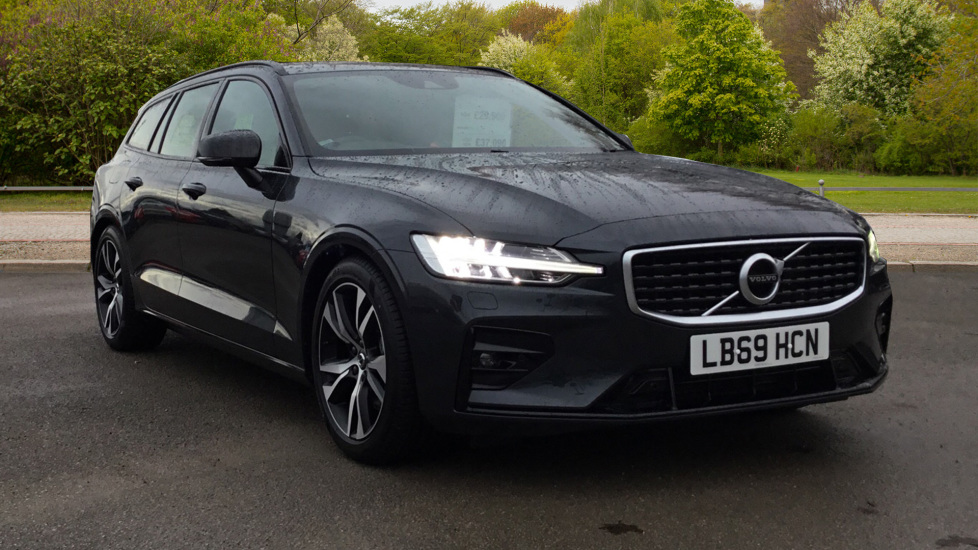 Volvo V60 2.0 D3 R DESIGN 5dr - Volvo on Call, DAB Radio, SAT NAV, Park Assist Diesel Estate (2019)