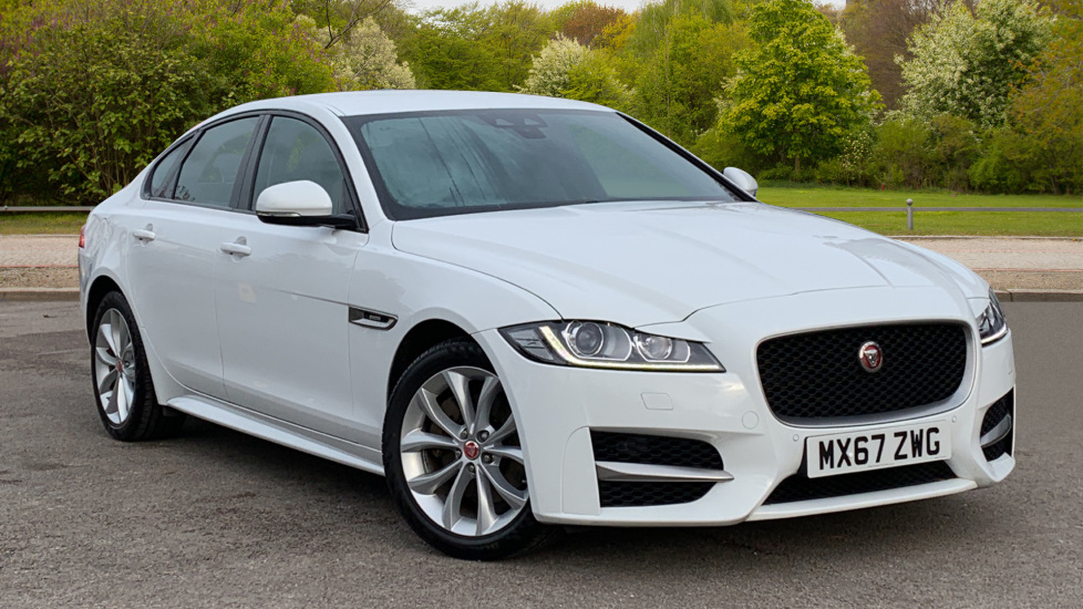 Jaguar XF 2.0d [180] R-Sport with Sat Nav and Rear Parking Camera Diesel Automatic 4 door Saloon (2017) image