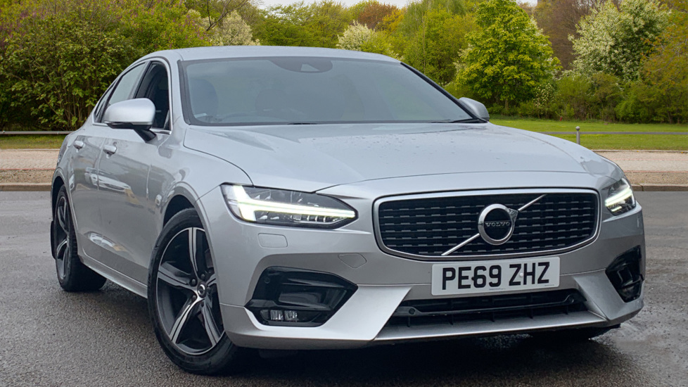 Volvo S90 2.0 D4 R DESIGN Geartronic - Driver Support, SAT NAV, DAB, BLIS Diesel Automatic 4 door Saloon (2019) image