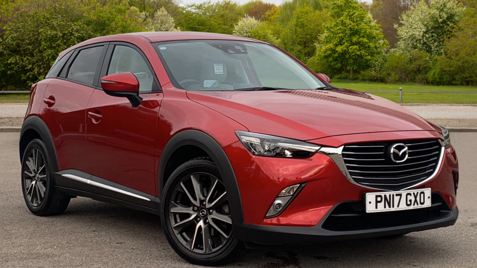 Mazda CX-3 2.0 Sport Nav 5dr w. Bose Premium Sound and Safety Pack Hatchback (2017) at Volvo Preston thumbnail image