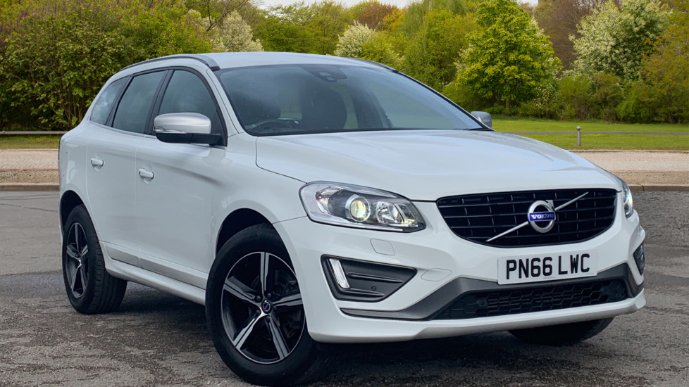 Volvo XC60 D4 [190] R DESIGN Lux Nav 5dr AWD Geartronic - Winter Pack, Front and Rear Park Assist 2.4 Diesel Automatic 4x4 (2016) image