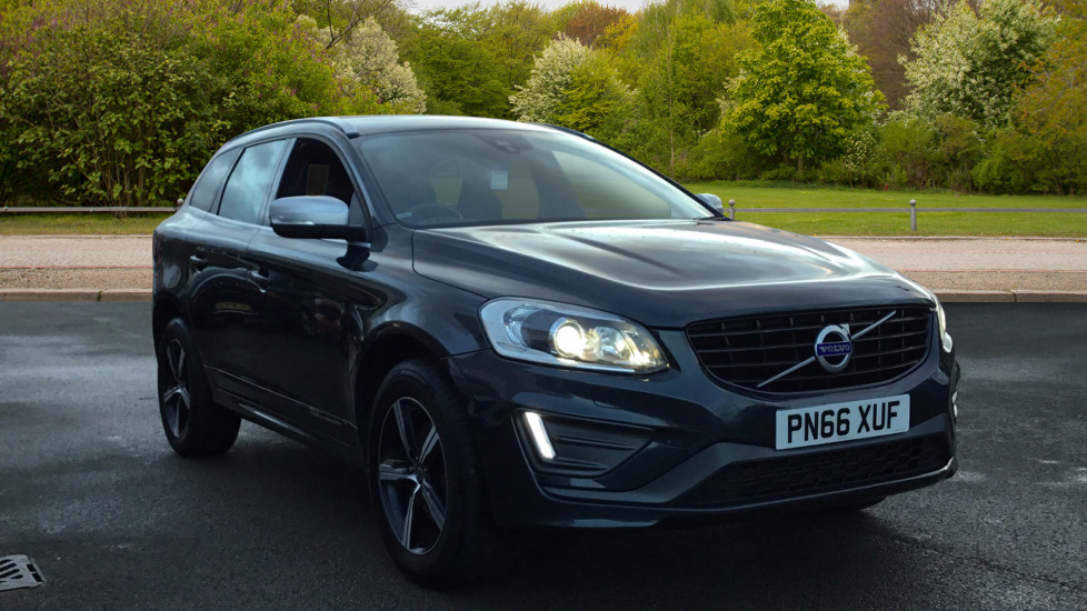 Volvo XC60 D4 [190] R DESIGN Lux Nav 5dr AWD Geartronic 2.4 Diesel Automatic Estate (2017)