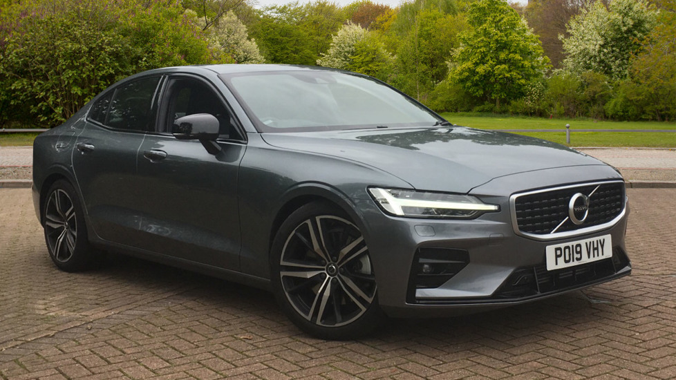 Volvo S60 2.0 T5 R DESIGN Edition - Panoramic Glass Roof and Volvo on Call Automatic 4 door Saloon (2019) at Volvo Preston thumbnail image