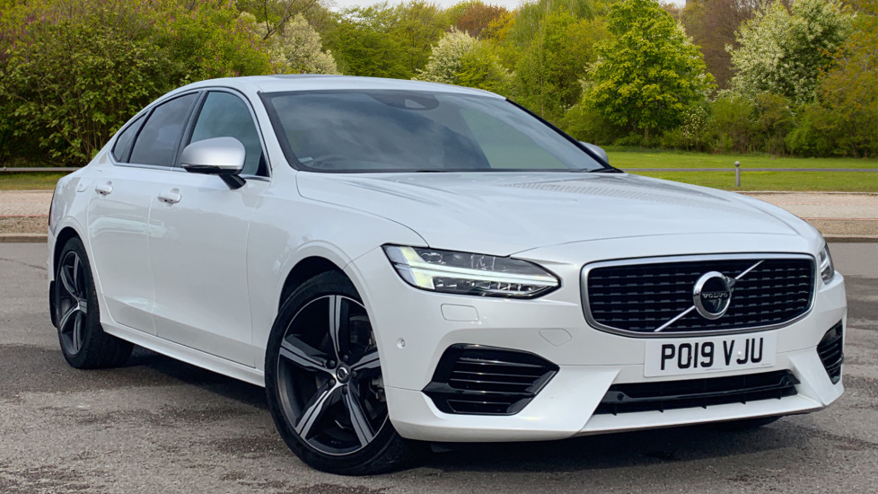 Volvo S90 2.0 T8 [390] Hybrid AWD R-Design Pro - Xenium, Intellisafe Pro  Automatic 4 door Saloon (2019) image