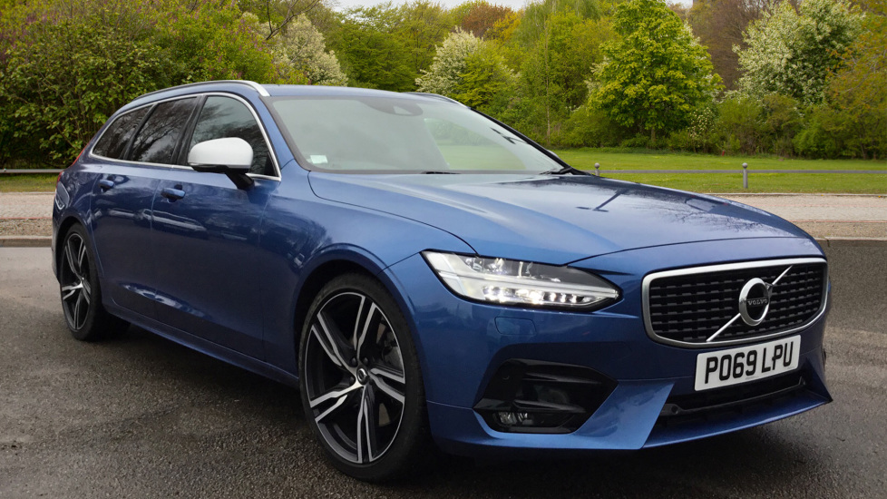 Volvo V90 2.0 D5 PowerPulse R DESIGN 5dr AWD Geartronic Diesel Automatic Estate (2019)