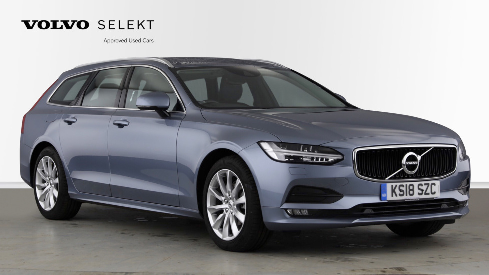 Volvo V90 2.0 D4 Momentum Pro 5dr Geartronic with BLIS, Power Passenger Seat and Smartphone Integration Diesel Automatic Estate (2018)