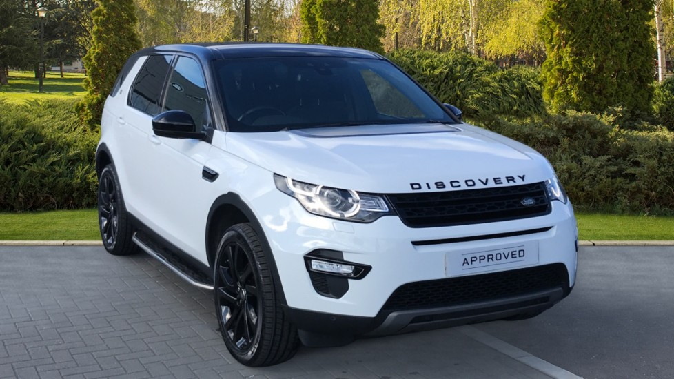 Land Rover Discovery Sport 2.0 TD4 180 HSE Black Rear Camera and Fixed Pan roof Diesel Automatic 5 door 4x4