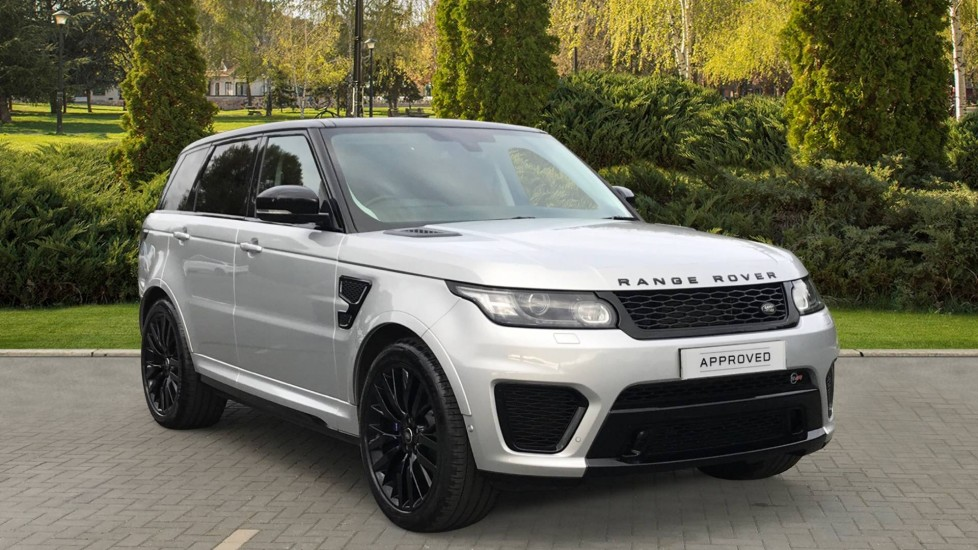 Land Rover Range Rover Sport 5.0 V8 S/C SVR with Sliding panoramic roof, Rear Camera Automatic 5 door Estate