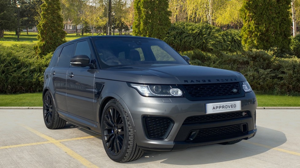 Land Rover Range Rover Sport 5.0 V8 S/C SVR - Drive Pro Pack, Carbon fibre heated steering wheel, Sliding panoramic roof 4999.0 Automatic 5 door Estate (2017) image