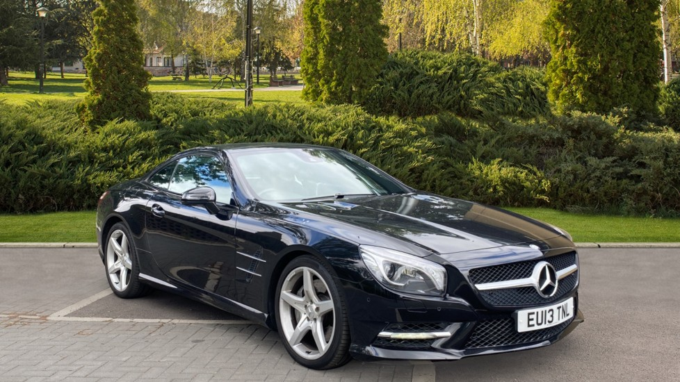 Mercedes-Benz SL SL 500 2dr with fixed pan roof and harman/kardon surround sound 4.7 Automatic 3 door Convertible