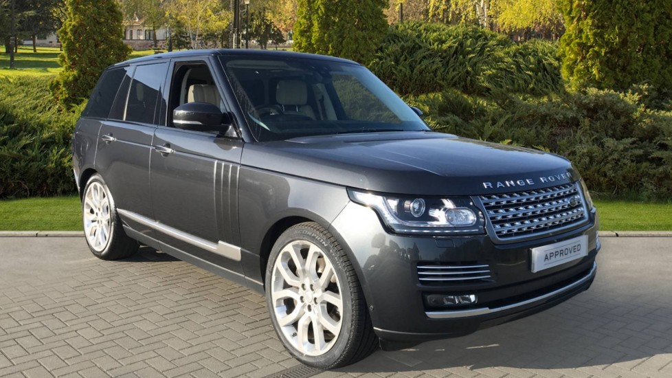 Land Rover Range Rover 4.4 SDV8 Autobiography 4dr 22 inch Alloys - 5 split-spoke 'Style 5004', Sliding Panoramic Roof Diesel Automatic 5 door Estate
