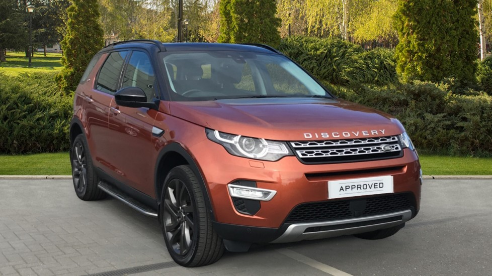 Land Rover Discovery Sport 2.0 Si4 240 HSE Luxury 5dr Automatic 4x4 (2017)