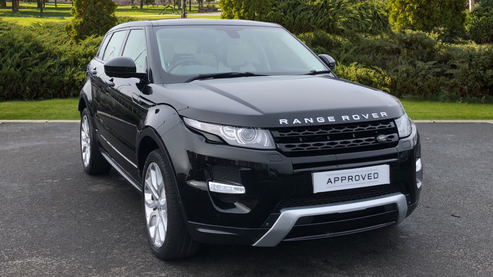 Land Rover Range Rover Evoque 2.2 SD4 Dynamic 5dr [9] [Lux Pack] Diesel Automatic Hatchback (2015)