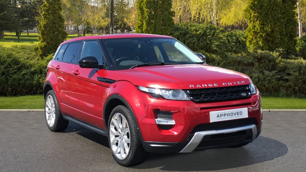 Land Rover Range Rover Evoque 2.2 SD4 Dynamic 5dr [9] [Lux Pack] Diesel Automatic Hatchback