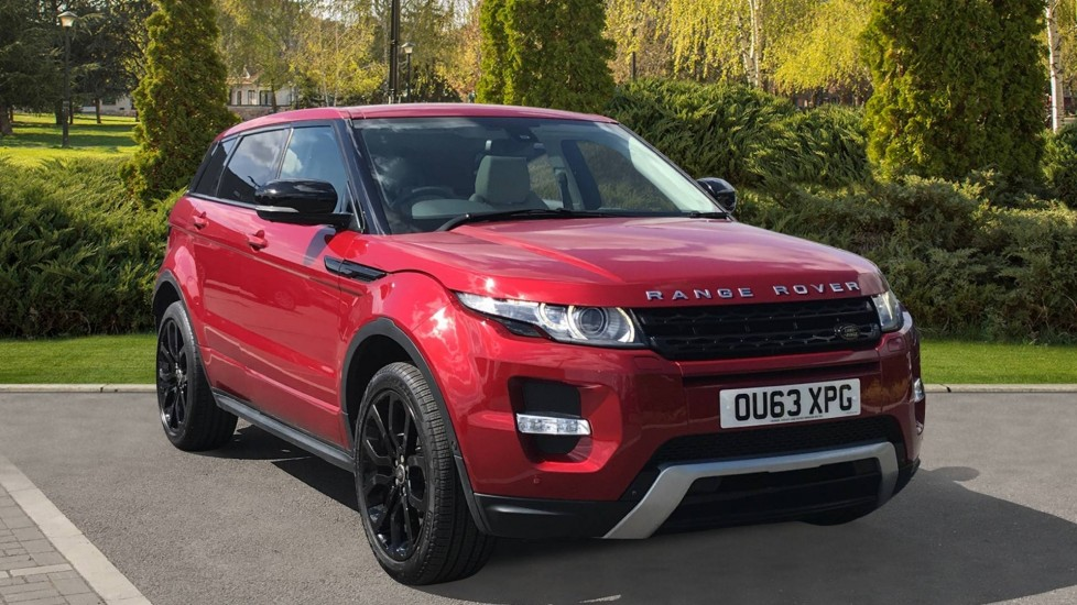 Land Rover Range Rover Evoque 2.2 SD4 Dynamic 5dr [Lux Pack] Diesel Automatic Hatchback