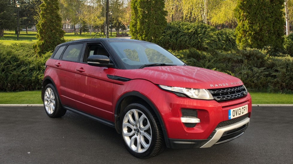 Land Rover Range Rover Evoque 2.0 Si4 Dynamic 5dr [Lux Pack] Automatic Hatchback (2013)