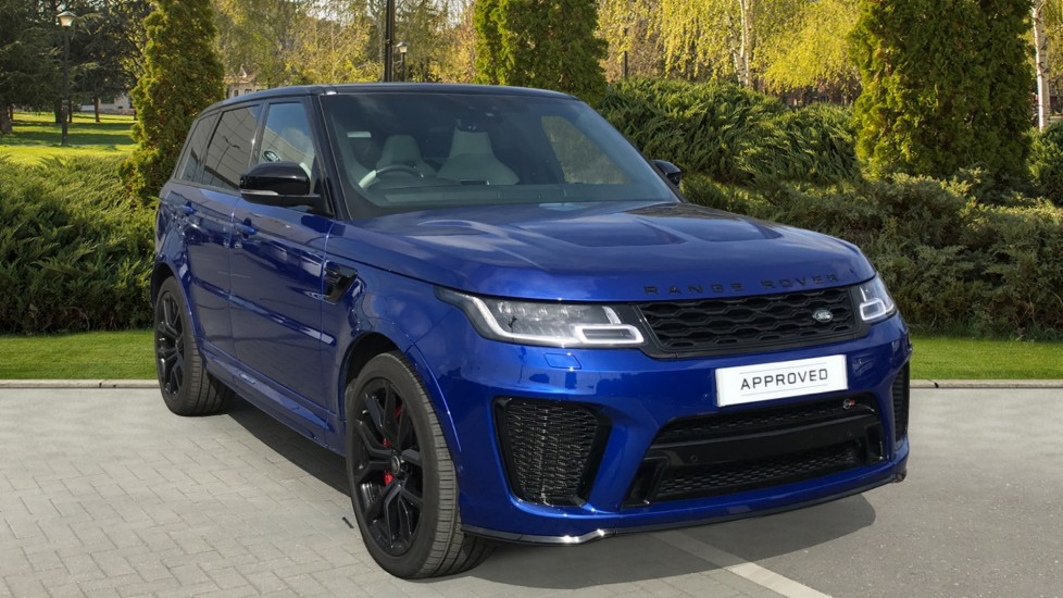 Land Rover Range Rover Sport 5.0 V8 S/C 575 SVR Rear Camera and Meridian surround sound Automatic 5 door Estate image