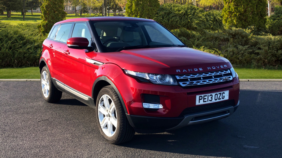 Land Rover Range Rover Evoque 2.2 SD4 Pure 5dr [Tech Pack] Diesel Automatic Hatchback (2013)