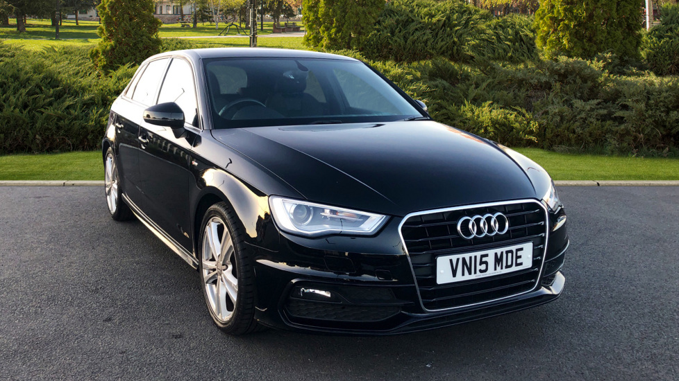 Audi A3 1.4 TFSI 150 S Line S Tronic Automatic 5 door Hatchback (2015) available from Bolton Motor Park Abarth, Fiat and Mazda thumbnail image