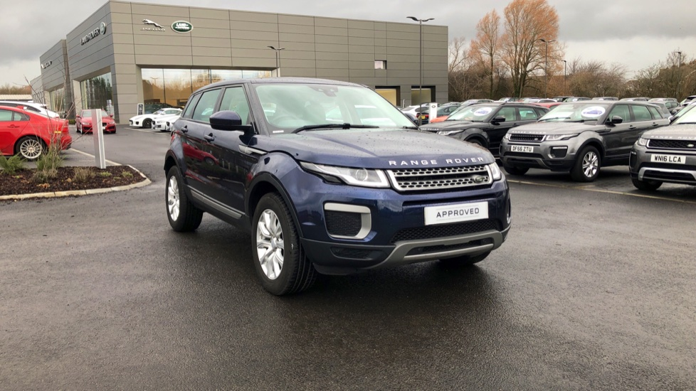 Land Rover Range Rover Evoque 2.0 eD4 SE 5dr 2WD with 18 inch Seven Spoke Alloys and Lane Keeping Aid Diesel Hatchback (2016) image