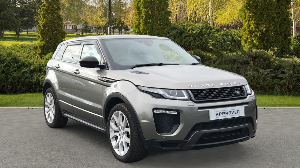 Land Rover Range Rover Evoque 2.0 TD4 HSE Dynamic 5dr with Panoramic Sunroof, Meridian and Memory Heated Seats Diesel Automatic Hatchback