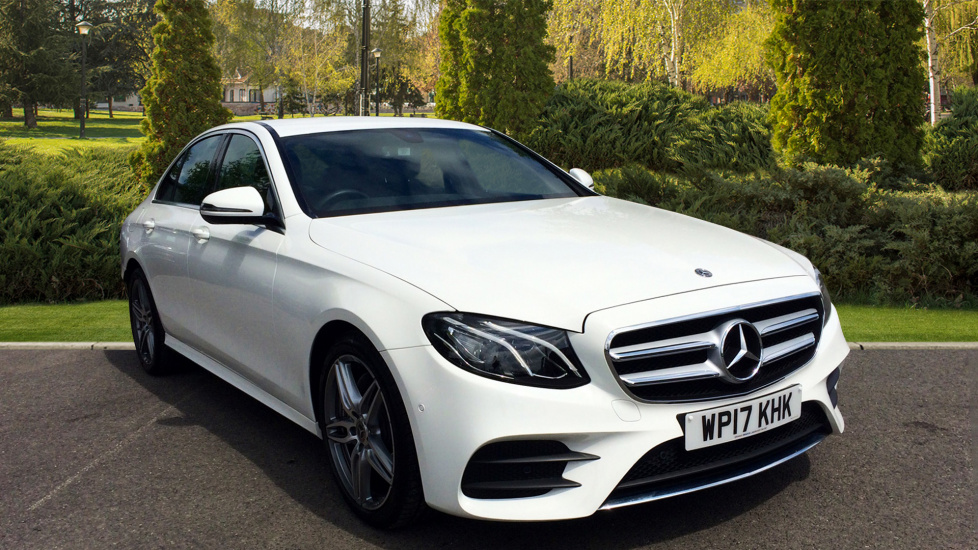 Mercedes-Benz E-Class New Shape E220d AMG Line 9G-Tronic Auto with Sat Nav, Leather, 19 2.0 Diesel Automatic 4 door Saloon (2017) at Volvo Croydon thumbnail image