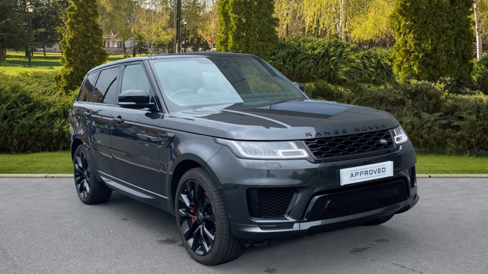 Land Rover Range Rover Sport 3.0 P400 HST 5dr - Keyless Entry, Meridian Surround Sound System, Fixed panoramic roof Automatic Estate (2019) image