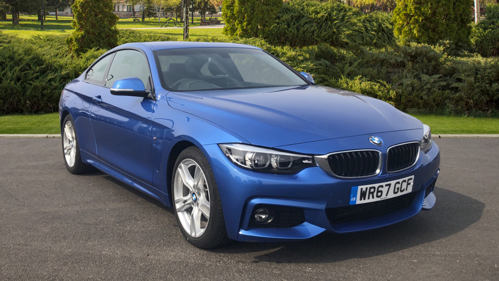 Bmw 4 Series 420d 190 M Sport 2dr Professional Media 2 0 Sel Automatic Coupe 2017 At Land Rover Swindon