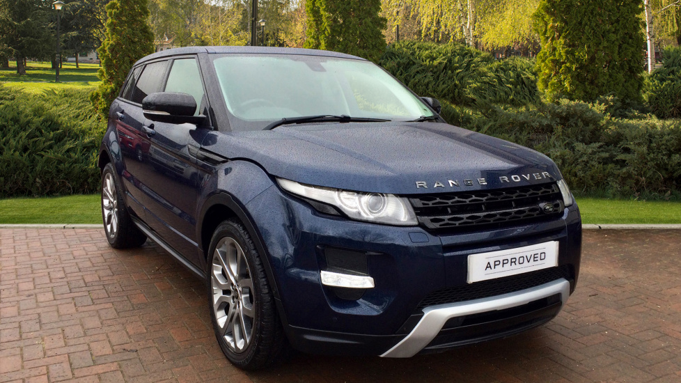 Land Rover Range Rover Evoque 2.2 SD4 Dynamic 5dr [Lux Pack] Diesel Automatic 4x4 (2013)