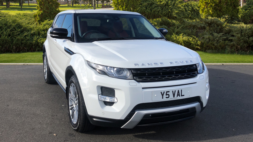 Land Rover Range Rover Evoque 2.2 SD4 Dynamic 5dr [Lux Pack] Diesel Hatchback (2012)