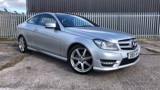 Mercedes C-class C220 CDI AMG Sport Edition 2dr Auto Diesel Coupe - 1 Owner - Full Franchise History - Satellite Navigation - Front and Rear Parking Sensor - Cruise Control