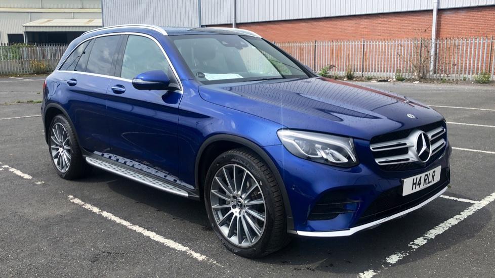 Mercedes Glc Class Blue Automatic Auction Dealerpx