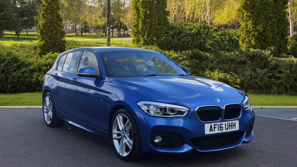BMW 1 Series 118d M Sport Step 2.0 Diesel Automatic 5 door Hatchback (2016)