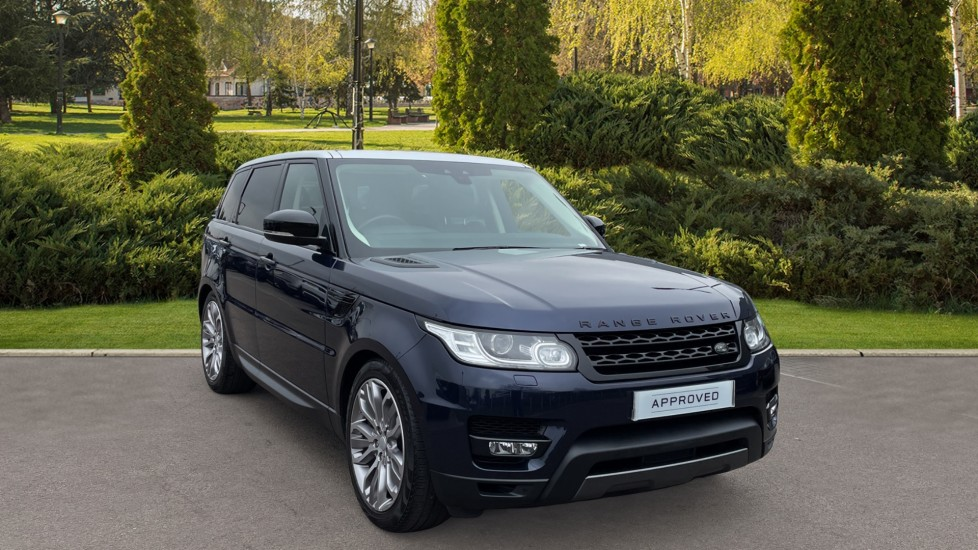 Land Rover Range Rover Sport 3.0 V6 S/C HSE Dynamic Heated front and rear seats, Heated steering wheel Automatic 5 door Estate at Land Rover Hatfield thumbnail image