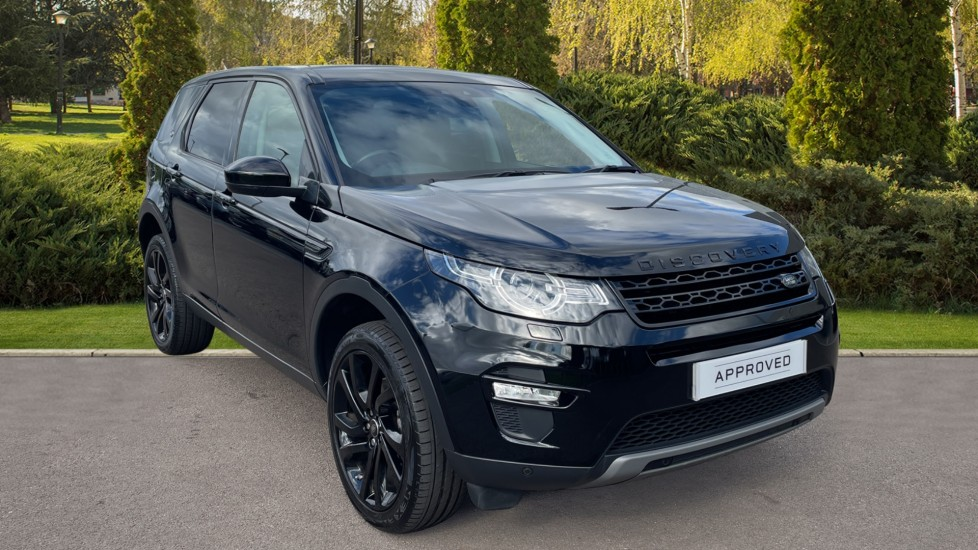 Land Rover Discovery Sport 2.0 TD4 180 HSE Black 5dr Meridian Sound System Rear Camera Diesel Automatic 4x4