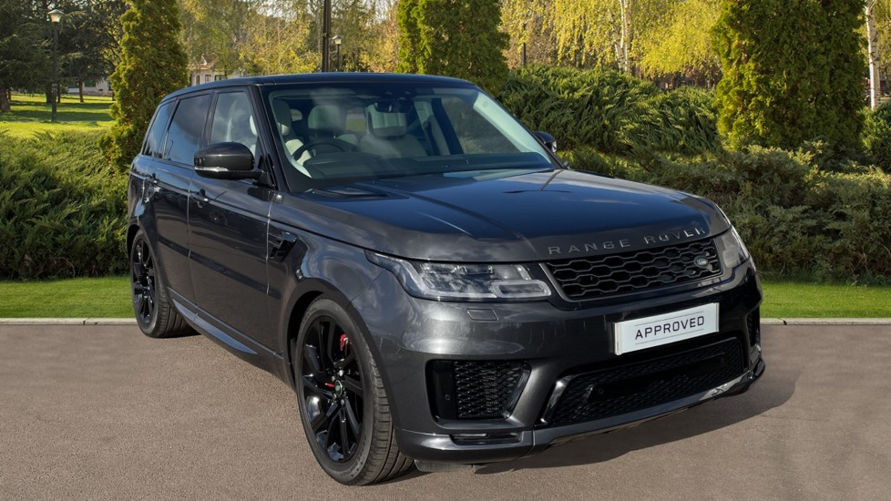 Land Rover Range Rover Sport 2.0 P400e HSE Dynamic 5dr Powered gesture tailgate, Heated front and rear seats Petrol/Electric Automatic 4x4 available from Jaguar Barnet thumbnail image
