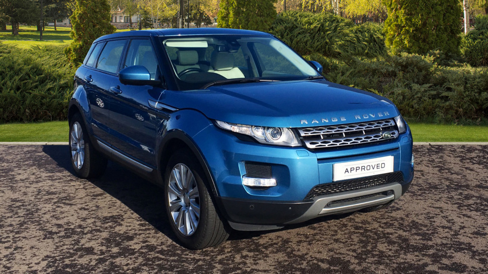 Land Rover Range Rover Evoque 2.2 SD4 Prestige 5dr [9] [Lux Pack] Diesel Automatic Hatchback (2014) at Land Rover Hatfield thumbnail image