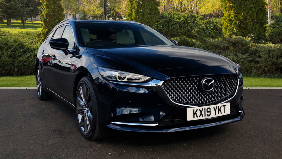 Mazda 6 2.2d GT Sport Nav+ 5dr Diesel Automatic Estate (2019) at Mazda Northampton Motors thumbnail image