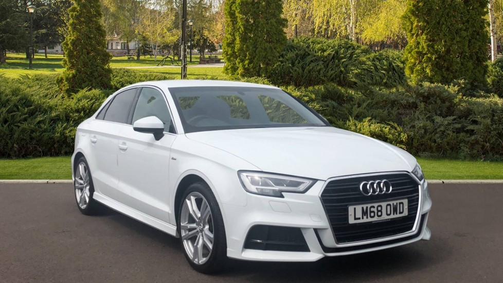 Audi A3 35 TFSI S Line S Tronic 1.5 Automatic 4 door Saloon (2018)