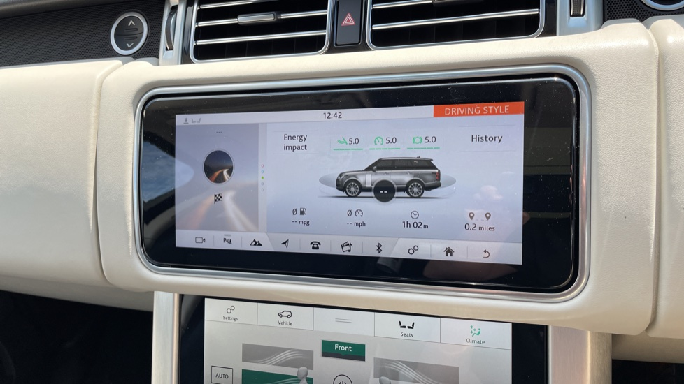 Land Rover Range Rover 3.0 SDV6 Vogue SE 4dr Auto Sliding panoramic roof, Privacy glass image 24