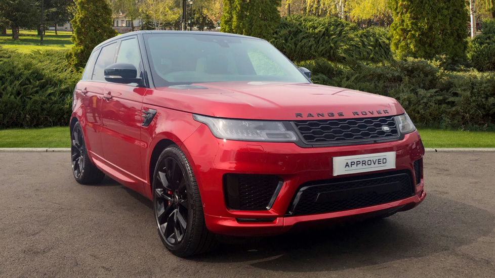 Land Rover Range Rover Sport 3.0 P400 HST 5dr Automatic Estate (2019) at Land Rover Hatfield thumbnail image